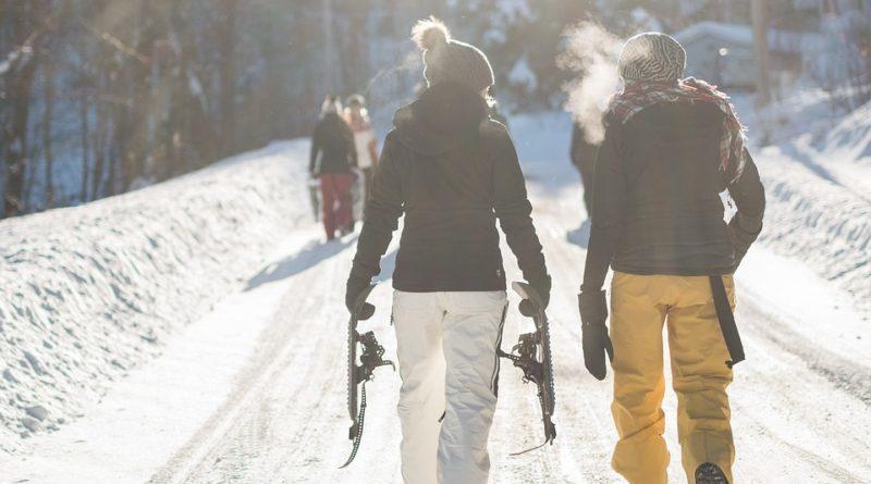 Hravé boty do sněhu
